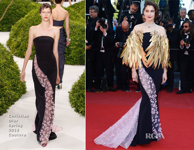 Laetitia Casta In Christian Dior Couture - 'Zulu' Cannes Film Festival Premiere and Closing Ceremony