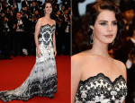 Lana Del Rey In Lena Hoschek - 'The Great Gatsby' Premiere & Cannes Film Festival Opening Ceremony