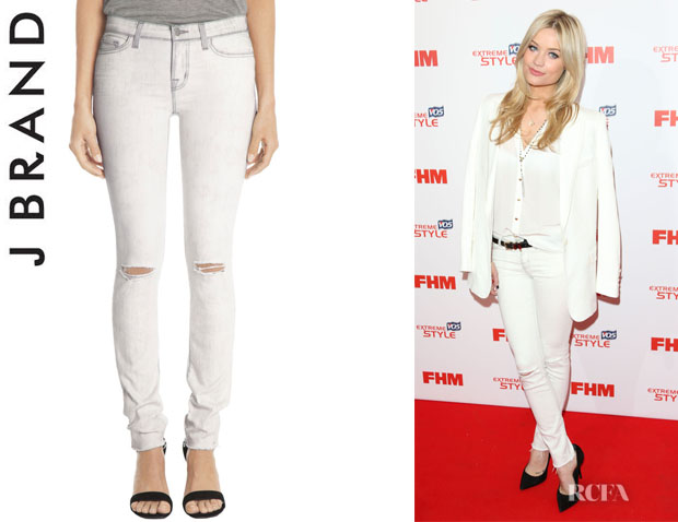 Laura Whitmore's J Brand 'Hysteria' Skinny Jeans1