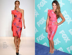 Lea Michele In Lela Rose - FOX 2013 Programming Presentation Post-Party