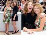 Lea Seydoux In Dolce & Gabbana - 'La Vie D'Adele' Cannes Film Festival Photocall