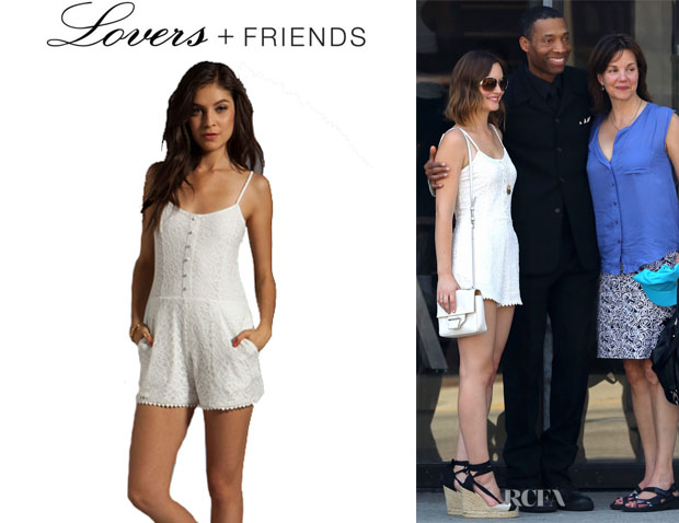 Leighton Meester's Lovers + Friends 'Escape' Romper