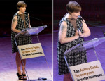 Lena Dunham In Theyskens' Theory - 2013 Actors Fund Gala