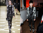 Li Yuchun In Roberto Cavalli - Chinese Party