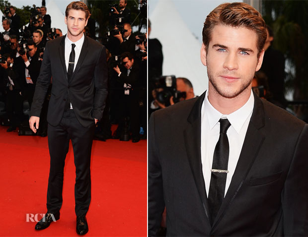 Liam Hemsworth In Dolce & Gabbana - 'Jimmy P (Psychotherapy Of A Plains Indian)' Cannes Film Festival Premiere