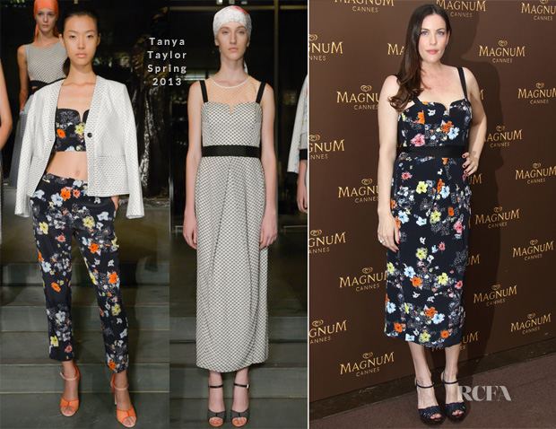 Liv Tyler In Tanya Taylor - 'Magnum' Cannes Film Festival Photocall