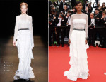 Liya Kebede In Alberta Ferretti - 'Jeune & Jolie' Cannes Film Festival Premiere