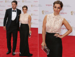 Louise Redknapp In Victoria Beckham & Dolce & Gabbana - British Academy Television Awards 2013