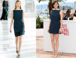 Marion Cotillard In Antonio Berardi - 'Blood Ties' Cannes Film Festival Photocall