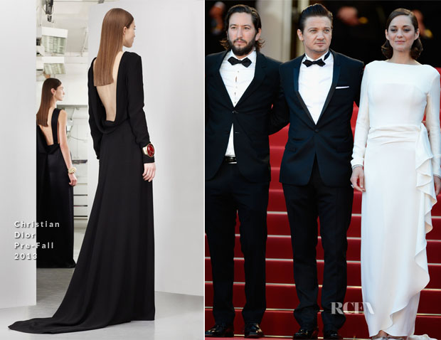 Marion Cotillard In Christian Dior - 'The Immigrant' Cannes Film Festival Premiere