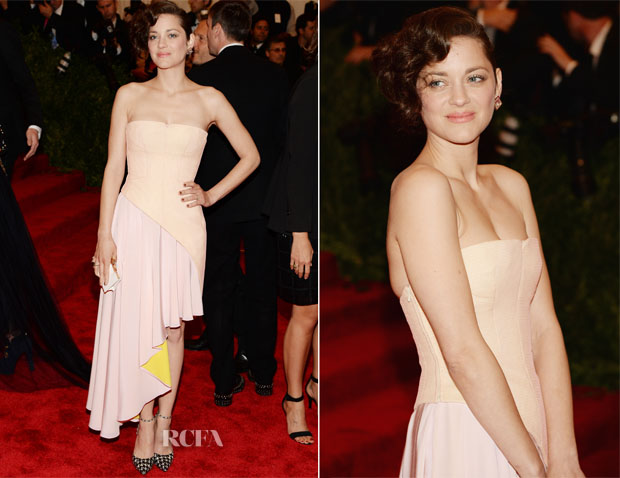 Marion Cotillard In Christian Dior Couture - 2013 Met Gala
