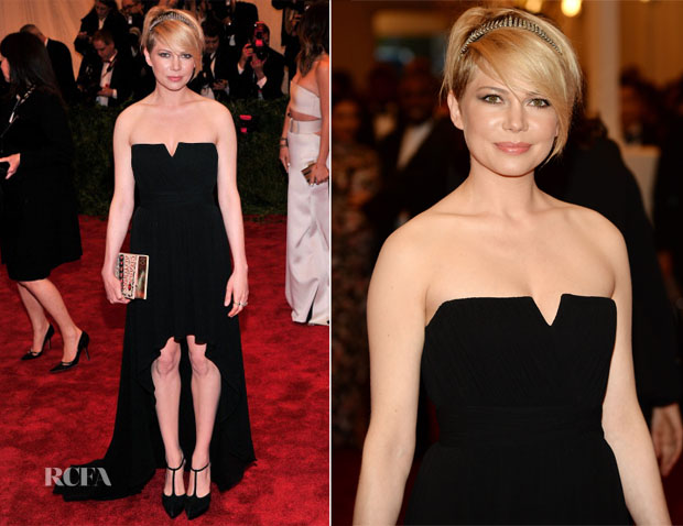 Michelle Williams Saint Laurent - 2013 Met Gala