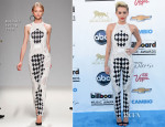 Miley Cyrus In Balmain - 2013 Billboard Music Awards
