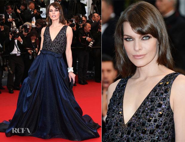 Milla Jovovich In Armani - 'All Is Lost' Cannes Film Festival Premiere