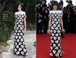 Milla Jovovich In Chanel Couture - 'Blood Ties' Cannes Film Festival Premiere