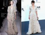 Milla Jovovich In Valentino Couture - amfAR Cinema Against AIDS Gala