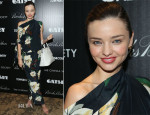 Miranda Kerr In Vivienne Westwood Anglomania - 'The Great Gatsby' New York Screening