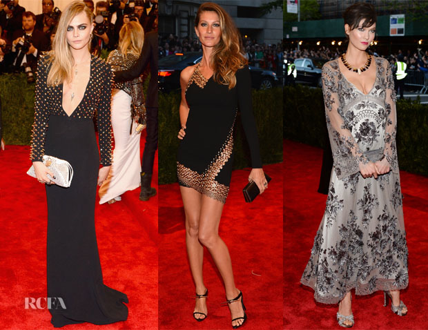 50e0dc740a Here is a roundup of the models who took to the red carpet at the 2013 Met  Gala on Monday night. Cara Delevingne  Wearing Burberry