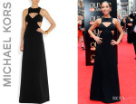 Myleene Klass' Michael Kors Cutout Gown