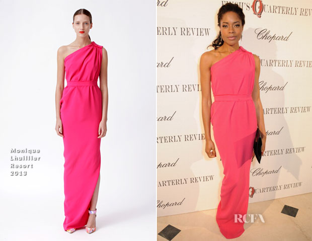 Naomie Harris In Monique Lhuillier - Finch's Quarterly Review Filmmakers Dinner