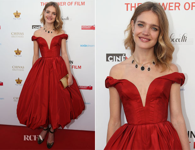 Natalia Vodianova In Ulyana Sergeenko - 'Naked Heart' Foundation and 'Film Aid' Gala