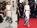 Nicole Kidman In Chanel  - 'La Venus a La Fourrure' Cannes Film Festival Premiere