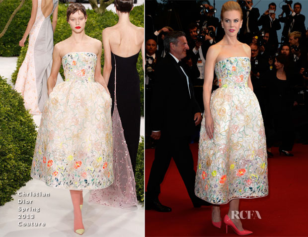 Nicole Kidman In Christian Dior - 'The Great Gatsby' Premiere & Cannes Film Festival Opening Ceremony