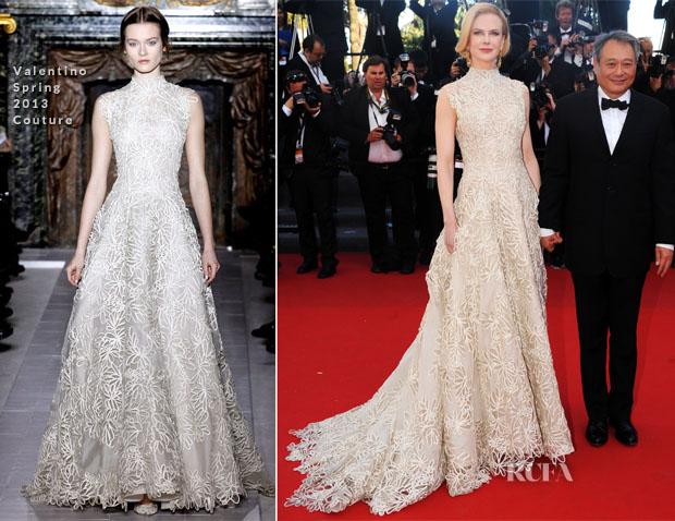 Nicole Kidman Balenciaga Wedding Dresses: Nicole Kidman In Valentino Couture