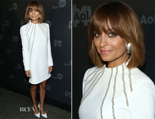 Nicole Richie In Saint Laurent - AOL 2013 Digital Content NewFront
