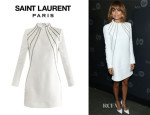 Nicole Richie's Saint Laurent Chain Embellished Dress