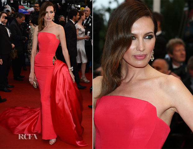 Nieves Alvarez In  Ralph & Russo Couture -  'Jimmy P (Psychotherapy Of A Plains Indian)' Cannes Film Festival Premiere