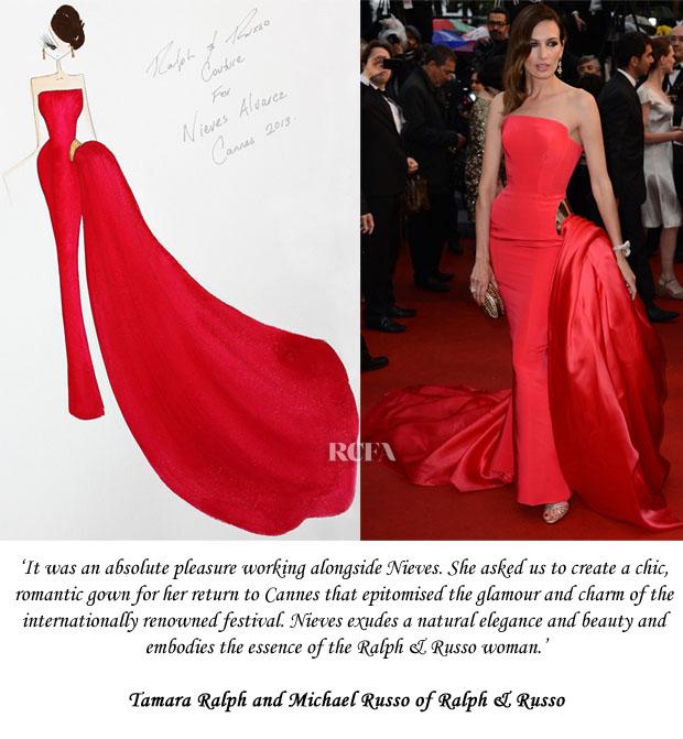 Nieves Alvarez Ralph & Russo Couture