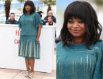Octavia Spencer In Tadashi Shoji - 'Fruitvale Station' Cannes Film Festival Photocall