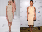 Olivia Munn In J. Mendel - 2013 Television Academy Honors