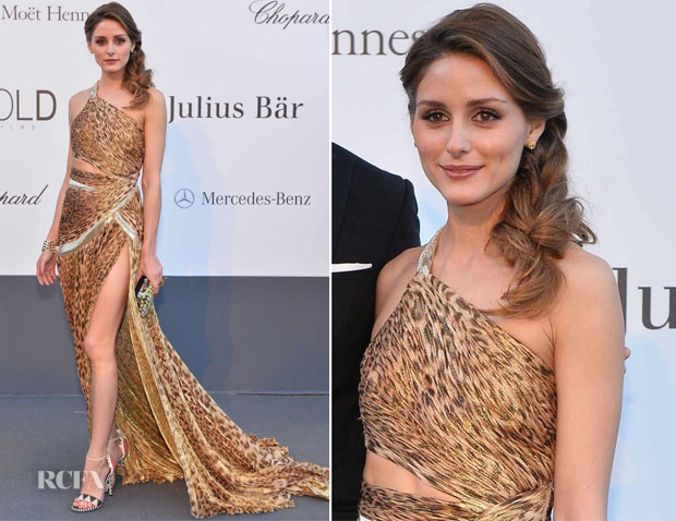 Olivia Palermo In Roberto Cavalli - amfAR Cinema Against AIDS Gala
