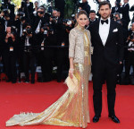 Olivia Palermo In Roberto Cavalli - 'The Immigrant' Cannes Film Festival Premiere