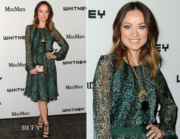 Olivia Wilde In MaxMara - Whitney Museum Art Party
