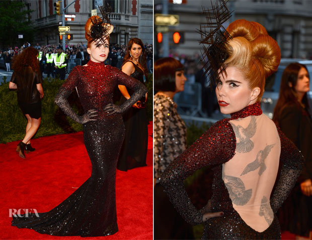 Paloma Faith In Michael Cinco - 2013 Met Gala