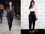 Paz Vega In Alexandre Vauthier Couture - Bulgari Hosts 'Cleopatra' Cocktail