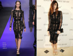 Paz Vega In Elie Saab – Finch's Quarterly Review Filmmakers Dinner