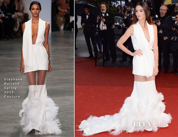 Paz Vega In Stéphane Rolland Spring 2013 Couture - 'Jimmy P (Psychotherapy Of A Plains Indian)' Cannes Film Festival Premiere