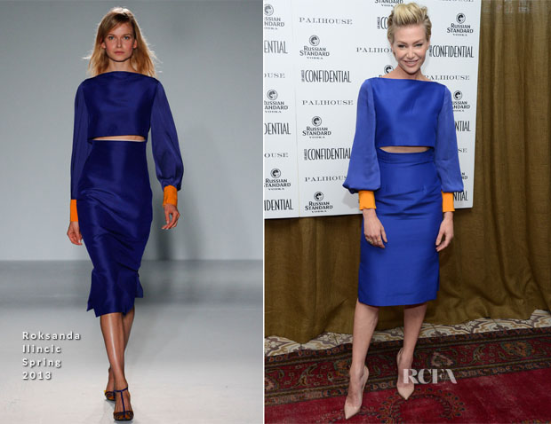 Portia de Rossi In Roksanda Ilincic - Los Angeles Confidential Magazine May June Cover Party