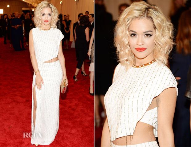 Rita Ora In Thakoon - 2013 Met Gala