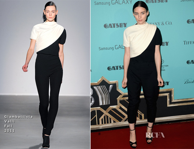 Rooney Mara In Giambattista Valli - 'The Great Gatsby' Cannes Film Festival Party