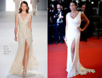 Rosario Dawson In Elie Saab - 'As I Lay Dying' Cannes Film Festival Premiere