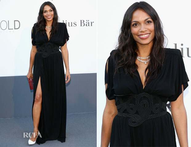 Rosario Dawson In Vionnet - amfAR's Cinema Against AIDS Gala