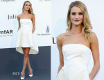 Rosie Huntington-Whiteley In Christian Dior - amfAR Cinema Against AIDS Gala