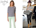 Rosie Huntington-Whiteley's Lily Aldridge for Velvet 'Pearl' Top