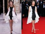 Sara Forestier In Giambattista Valli Couture - 'Le Passe' Cannes Film Festival Premiere