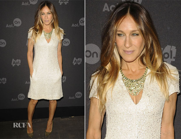 Sarah Jessica Parker In L'Agence - AOL 2013 Digital Content NewFront